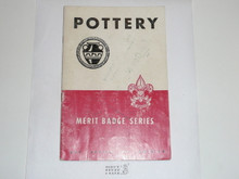 Pottery Merit Badge Pamphlet, 7-51 Printing