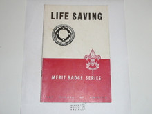 Life Saving Merit Badge Pamphlet, 4-51 Printing