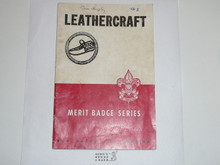 LeatherCraft Merit Badge Pamphlet, 3-46 Printing