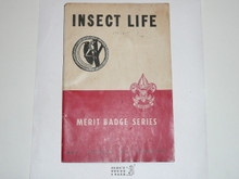 Insect Life Merit Badge Pamphlet, 1-48 Printing