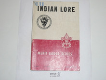 Indian Lore Merit Badge Pamphlet, 3-51 Printing
