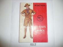 Weather Merit Badge Pamphlet, 2-43 Printing