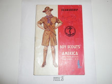 Seamanship Merit Badge Pamphlet, 3-44 Printing