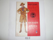 Pottery Merit Badge Pamphlet, 4-43 Printing