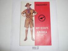 Masonry Merit Badge Pamphlet, 3-44 Printing