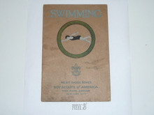 Swimming Merit Badge Pamphlet , 2-36 Printing