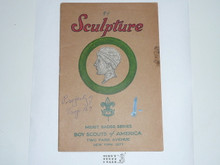 Sculpture Merit Badge Pamphlet , 2-43 Printing