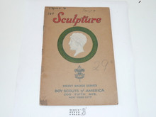 Sculpture Merit Badge Pamphlet , 1925 Printing