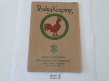 Poultry Keeping Merit Badge Pamphlet , 12-33 Printing