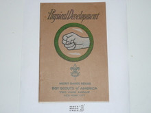 Physical Development Merit Badge Pamphlet , No Printing Date Listed