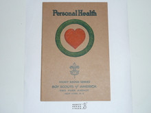 Personal Health Merit Badge Pamphlet , 11-36 Printing