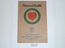 Personal Health Merit Badge Pamphlet , 11-36 Printing
