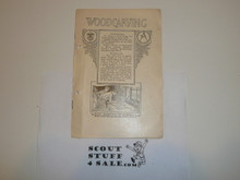 Woodcarving Merit Badge Pamphlet, 1922