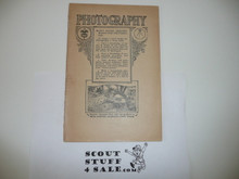 Photography Merit Badge Pamphlet, 1920