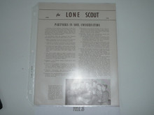 1956, April The Lone Scout Magazine