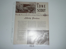 1952, April The Lone Scout Magazine