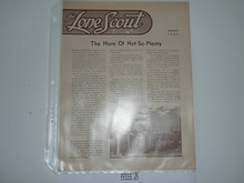 1947, March The Lone Scout Magazine