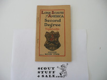 Lone Scout Second Degree Book