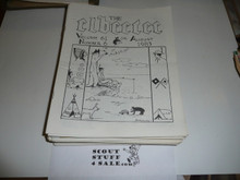 58 Issues of the Elbeetee Newsletter, 1973-1987, Mostly 1980's
