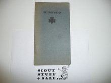 1924 Girl Scout Lefax Field Book With Lots of Inserts, very rare