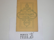 1918 Handbook of the Boy Rangers of America, Iowa City Area Council