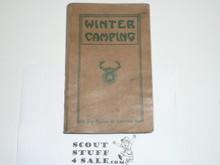 1927 Winter Camping Handbook, Limited Edition, Signed By Key Scouting Executives