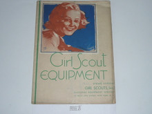 1938 Spring Girl Scout Equipment Catalog