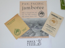 1959 Pan Pacific Jamboree Official Program, Jamboree Log, And Australian Contingent Songbook