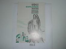 1963-1964 Winter Explorer Scout Equipment Catalog