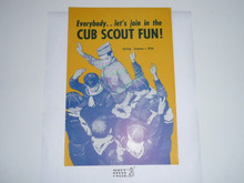 1959 Spring/Summer Cub Scout Equipment Catalog