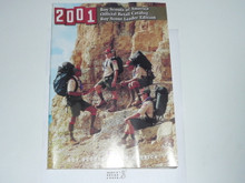 2001 Boy Scout Leader's Equipment Catalog