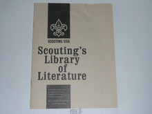1984 Scoutings Library of Literature Catalog