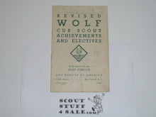 1947 Revised Wolf Requirement Update, 2-47 Printing