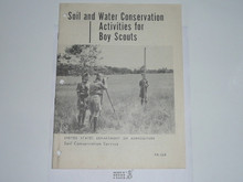 Soil and Water Conservation Activities for Boy Scouts, 12-57 Printing, US Department of Agriculture