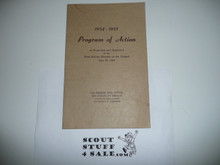 1954-1955 Los Angeles Area Council Program of Action Pamphlet