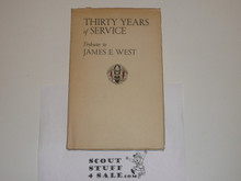 1941 30 Years of Service, Tributes to James E. West