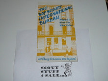 The Boy Scouts International Bureau Pamphlet