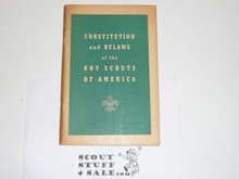 1956 Charter and Bylaws of the Boy Scouts of America, 9-56 Printing