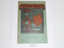 Totem Poles, 8-39 Printing, Boy Scout Service Library