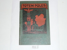 Totem Poles, 1929 Printing, Boy Scout Service Library