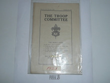 The Troop Committee, 3-21 Printing, Boy Scout Service Library