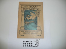The Troop Committee, 1935, Boy Scout Service Library, 6-40 Printing