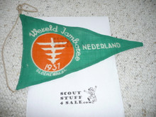 1937 World Jamboree Pennant