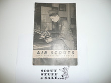 1943 Air Scouts Pamphlet, 4-43 Printing