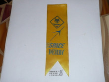 Cub Scout Space Derby Ribbon, Old