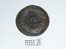 Heavy Bronze Cub Scout Paperweight