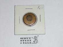 Lion Cub Scout Button, OLD
