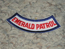 Camp Emerald Bay EMERALD PATROL Arc Patch