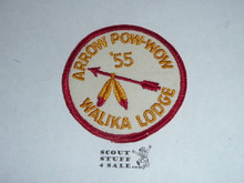 Walika Order of the Arrow Lodge #228 1955 Pow Wow Patch