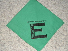 Camp Emerald Bay - Rugged E Neckerchief - Very RARE